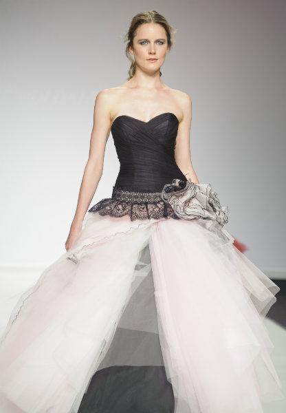 Leather biker wedding dress dress fric ideas for Leather wedding dresses black