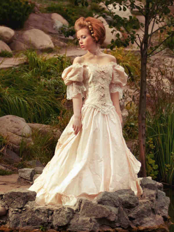 Renaissance wedding dresses looking for new ideas and inspiration they consist of a fitted bodice embellished with beading or embroidery a cinched in waist and an under dress over a floor skimming skirt junglespirit Gallery